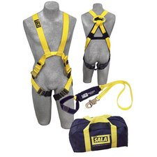 Arc Flash Fall Protection Kit (Contains Harness, 6' Lanyard And Carrying Bag)