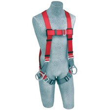 Medium/Large PRO™ Line Full Body Industrial Harness With Pass Thru Legs And Back And Side D-Rings