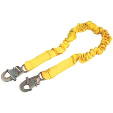 ShockWave2™ Shock Absorbing Lanyard With Self Locking Snap Hooks At Both Ends