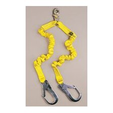 **DBI/SALA® 6' ShockWave2™ Shock Absorbing Lanyard With Snap Hooks And Flat Steel Hooks (Replaced By D621244412)