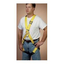 Size Full Body Cross Over Harness With Front D-Rings