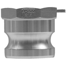 "<strong>Dixon Valve</strong> Global Type A Adapters - 3"" global type a adapter- aluminum"