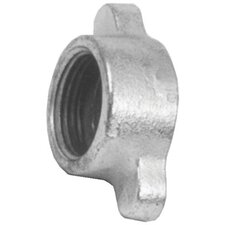 Malleable Iron Wing Nuts - 1/2 & 3/4 dixon nuts