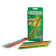 Ticonderoga Ticonderoga Erasable Colored Pencils