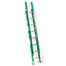 24' Fiberglass Extension Ladder D5924-2