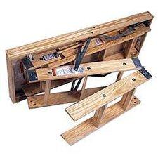 8' Folding Heavy Duty Access Attic Ladder