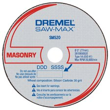 "3"" Masonry Cut Off Wheel"