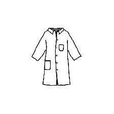 <strong>DuPont</strong> ProShield® 1 Blue Full-Cut Lab Coat With 5-Snaps 2-Pockets And Collar