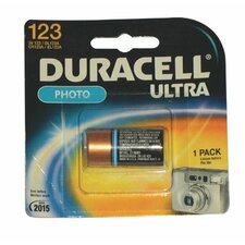 Duracell - Lithium Batteries 3.0 Volt Lithium Photo Battery (Dl123Abu): 243-Dl123Abpk - 3.0 volt lithium photo battery (dl123abu) (Set of 6)