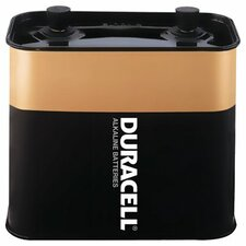 Duracell - Duracell Alkaline Lantern Batteries 6-Volt Screw-Top Alkaline Lantern Battery: 243-Mn918 - 6-volt screw-top alkaline lantern battery