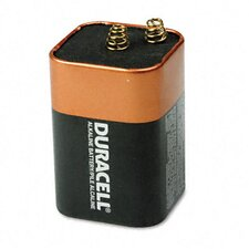 <strong>Duracell</strong> Coppertop Alkaline Lantern Battery, 6V