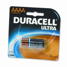 Ultra Alkaline Batteries, AAAA, 2/pack