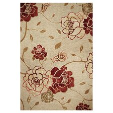 Horizon Sage Green Flora Indoor/Outdoor Rug
