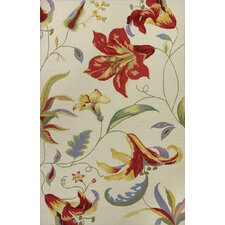 Colonial Lilies Rug