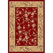<strong>KAS Oriental Rugs</strong> Cambridge Red/Beige Floral Rug