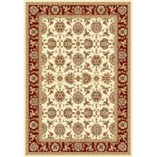 <strong>KAS Oriental Rugs</strong> Kashan Cambridge Ivory/Red Rug