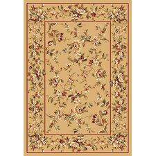 Cambridge Beige Floral Delight Rug