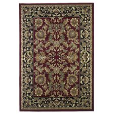 Cambridge Red/Black Kashan Rug