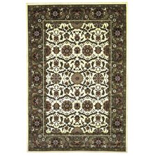 Cambridge Ivory / Green Floral Area Rug