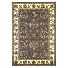 Cambridge Plum/Ivory Floral Mahal Rug