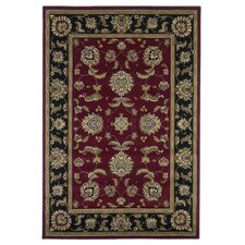<strong>KAS Oriental Rugs</strong> Cambridge Red/Black Bijar Rug