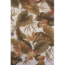 Colonial Tropical Paradise Rug