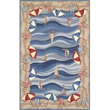 <strong>KAS Oriental Rugs</strong> Colonial On The Beach Novelty Rug