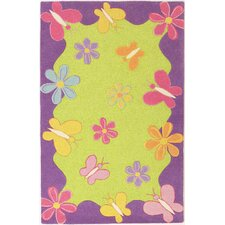 Kidding Around Springtime Fun Kids Rug