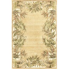 Ruby Natural Fauna Area Rug