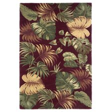Sparta Palm Leaves Area Rug