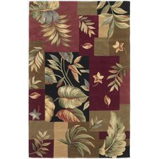Sparta Jeweltone Foliage Views Area Rug