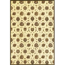 Cambridge Ivory Tabriz Panel Rug