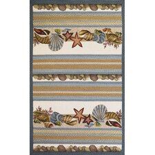 <strong>KAS Oriental Rugs</strong> Fairfax Seashells Novelty Rug