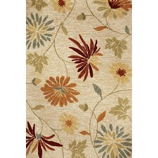 Meridian Beige Sofia Indoor/Outdoor Rug