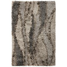 Optic Silver Grain Rug