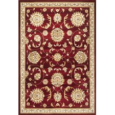 Cambridge Red Allover Mahal Rug