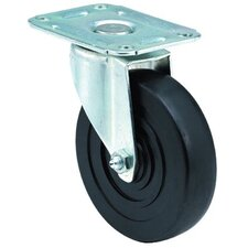 Light-Medium Duty Casters - 3x1-1/4 light-med duty at plate rigid caster