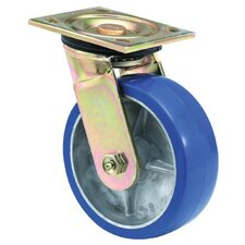 Heavy Duty Rigid Casters - 6x2 hvy duty 90 plate swivel caster