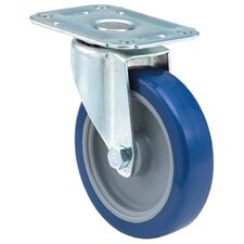 Light-Medium Duty Casters - 4x1-1/4 light-med duty 00 plate swivel caster