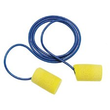 E-A-R® Classic® Foam Earplugs - classic plus metal detectable w/cord poly bag