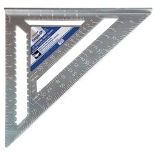 "Rafter Squares - 12"" heavy duty magnum rafter square with manual"