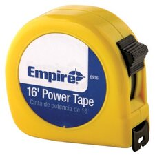 "Tape Measures - 3/4""x16' power measuringtape w/neon yell"