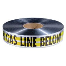 "Detectable Warning Tapes - 2""x1000' yellow cautiongas line below tape"
