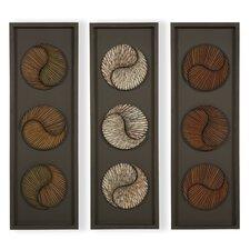 3 Piece Panel Wall Art Set