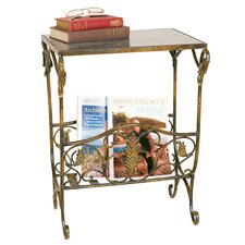 Magazine Table with Rack