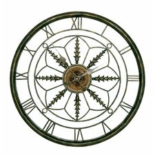 "<strong>Passport Furniture</strong> 25.5"" Circular Wall Clock"