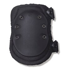 ProFlex 335 Slip-Resistant Rubber Cap Knee Pad in Black