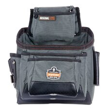 Arsenal 11-Pocket Tool and Fastener Pouch in Gray