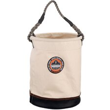 Arsenal Leather Bottom Bucket in White