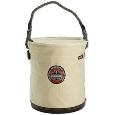 Arsenal Large Bucket with Top in White